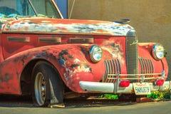 Винтажный автомобиль Barstow стоковое изображение rf