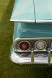 Винтажный автомобиль бирюзы Стоковое Фото
