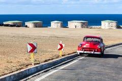Винтажный автомобиль, Гавана, Куба Стоковые Изображения RF