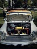 Винтажный автомобиль на великобританской выставке автомобиля Торонто Стоковое Изображение