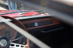 Винтажный автомобиль ретро стоковые фотографии rf