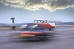 Винтажный автомобиль, фантазия Гаваны стоковое изображение