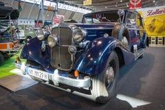 Винтажный автомобиль Maybach SW38, 1938, during the time из нацистской Германии принадлежал к генерал-лейтенанту SS Джордж Ebrech Стоковые Изображения RF
