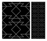 Винтажный античный безшовный дизайн делает по образцу плитки в иллюстрации вектора Стоковая Фотография