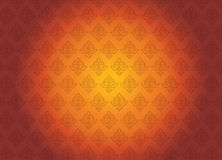 Винтажный апельсин иллюстрации вектора конспекта предпосылки и красный t Стоковые Изображения
