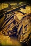 Винтажный артишок стоковое изображение