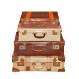 Винтажный багаж Стоковые Фотографии RF