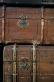 Винтажный багаж Стоковые Изображения RF