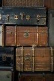Винтажный багаж Стоковое Фото