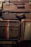 Винтажный багаж Стоковое Изображение RF