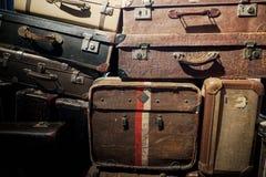 Винтажный багаж Стоковая Фотография