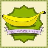 Винтажный банан Стоковая Фотография