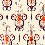 Винтажный барочный орнамент Стоковое Фото