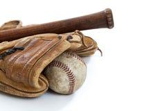 Винтажный бейсбол Стоковая Фотография RF