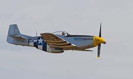 Винтажный боец мустанга P-51 Стоковые Фото