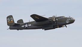 Винтажный бомбардировщик Второй Мировой Войны стоковое фото