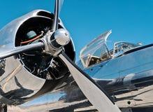 Винтажный бомбардировщик, оккупант A-26 Стоковое Фото