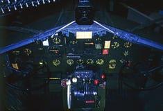 Винтажный бомбардировщик Стоковая Фотография RF
