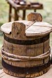 Винтажный бочонок, бочка Стоковая Фотография