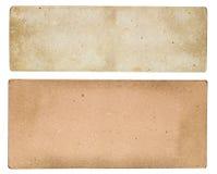 Винтажный бумажный знак Стоковые Фотографии RF