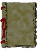 Винтажный блокнот Стоковое фото RF