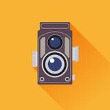 Винтажный вектор камеры Стоковые Фотографии RF