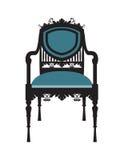 Винтажный вектор мебели стула Стоковая Фотография RF