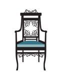 Винтажный вектор мебели стула Стоковые Фото