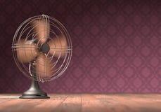 Винтажный вентилятор стоковые фотографии rf