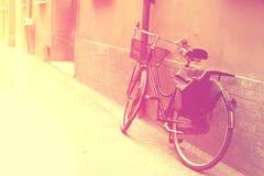 Винтажный велосипед Стоковые Изображения