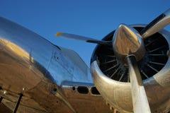 Винтажный взгляд крупного плана воздушных судн Стоковая Фотография