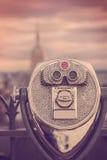 Винтажный взгляд NYC Стоковые Фото