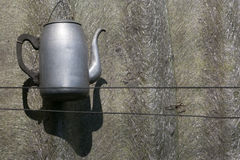 Винтажный вид чайника Стоковое Изображение