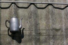 Винтажный вид чайника Стоковые Фото