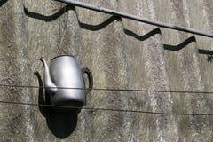 Винтажный вид чайника Стоковые Изображения