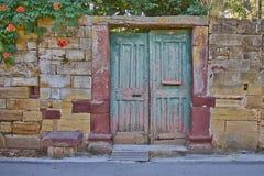 Винтажный вход дома стоковые фотографии rf
