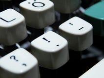 Винтажный выделенный ключ восклицательного знака Стоковые Изображения RF