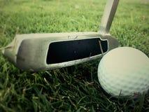 Винтажный гольф стоковые изображения rf