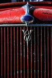 Винтажный гриль двигателя Стоковое Изображение