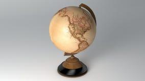 Винтажный глобус Стоковая Фотография RF