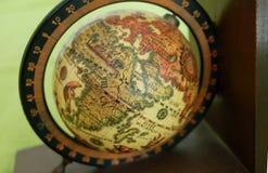 Винтажный глобус Стоковые Изображения RF