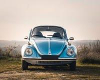 Винтажный дисплей автомобиля стоковые фотографии rf