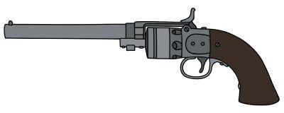Винтажный длинный револьвер Стоковые Изображения RF