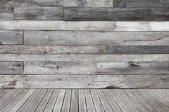 Винтажный деревянный этап Стоковая Фотография RF