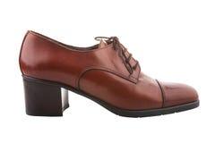 Винтажный женский ботинок Стоковая Фотография RF