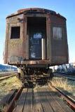 Винтажный железнодорожный экипаж стоковая фотография rf