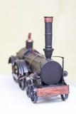 Винтажный западный модельный поезд с трубой Стоковое Фото