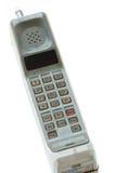 Винтажный изолированный мобильный телефон Стоковые Фото