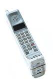 Винтажный изолированный мобильный телефон Стоковая Фотография