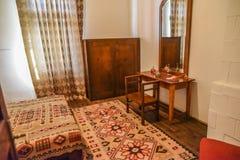 Винтажный интерьер спальни Стоковая Фотография